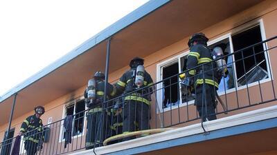 Incendio en San José deja tres heridos