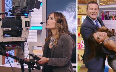 #DAEnUnMinuto: Karla debutó como camarógrafa y Alan presumió sus mejores...