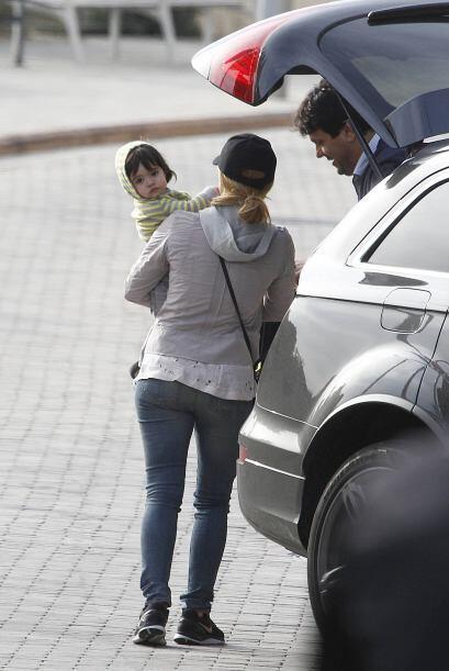 Shakira, Milan y el hermano de la cantante, Torino, dieron un paseo por...