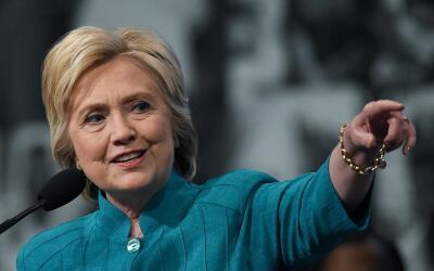Clinton recibió un respaldo inesperado