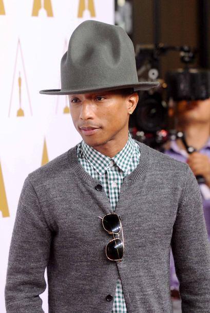 6.- Pharrell Williams inició su carrera en la música en el 2000.