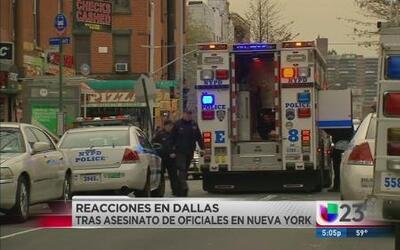 Policía de Dallas en alerta