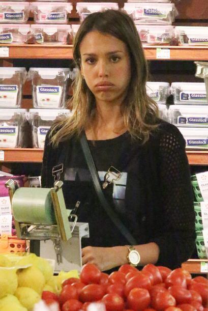 ¡Pucheros y más pucheros! La actriz lo único que quería es que las compr...
