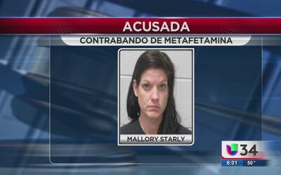 Contrabandeaba metanfetaminas a la cárcel