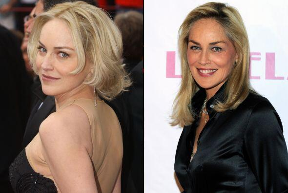 A Sharon Stone los años no le han hecho ningún favor, porque de ser una...
