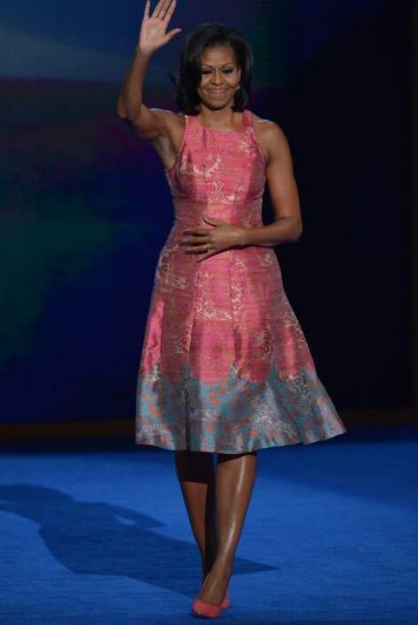 La primera dama de los Estados Unidos nunca decepciona con sus 'outfits'...