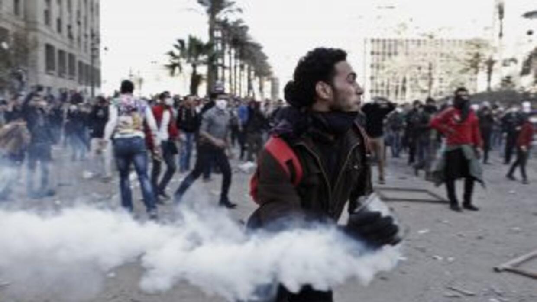 Disturbios en Egipto dejan varios muertos y cientos de heridos.