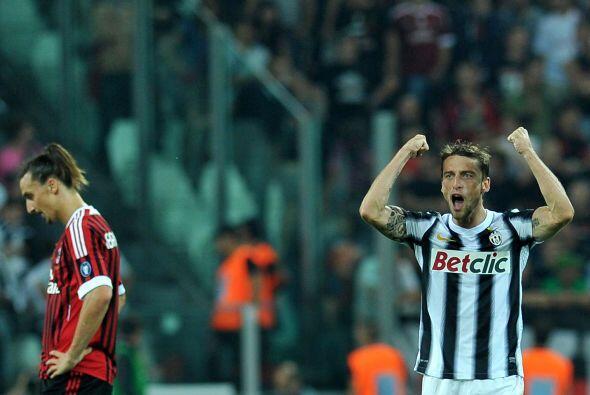 Y faltaba más, pues ya e el descuento el propio Marchisio logr&oa...