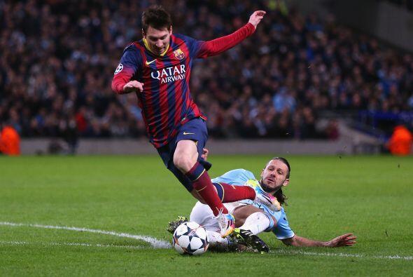 El partido cambió con esta jugada. Messi se escapaba y De Micheli...