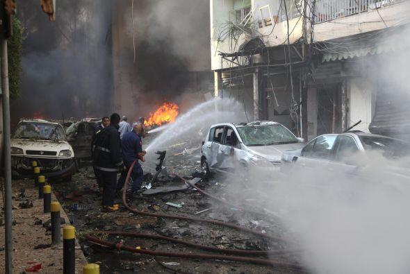 Desde que estallara la revuelta en el país vecino, el Líbano ha adoptado...