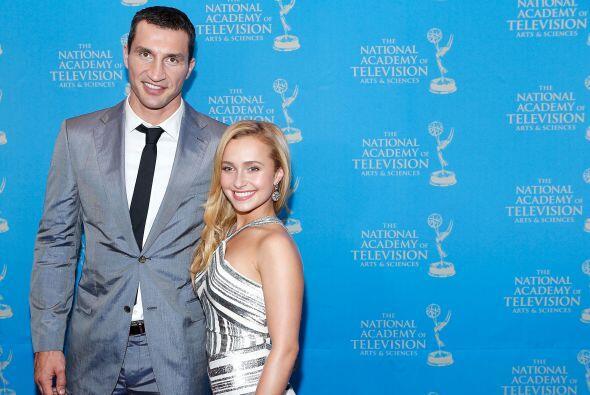 La actriz Hayden Panettiere y su marido Vladimir Klitschko se convirtier...