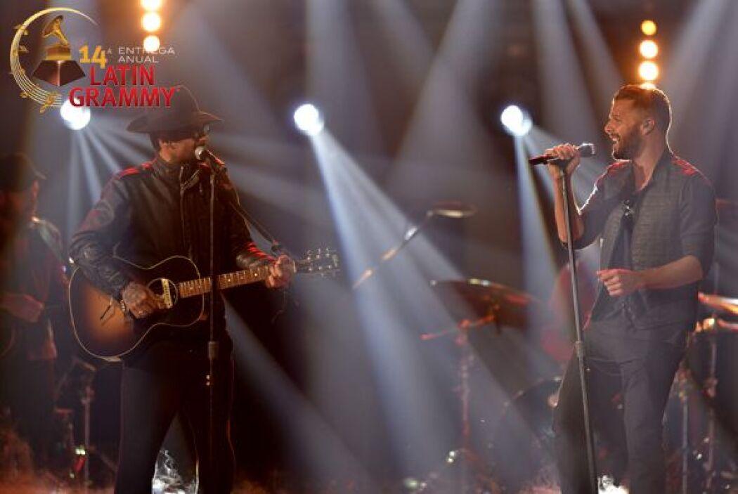 Ricky Martin y Draco Rosa qué dupla tan buena.