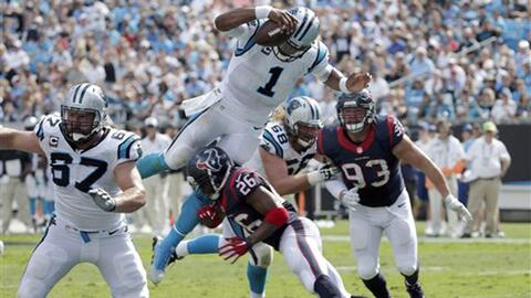 Highlights Temporada 2015 Semana 2: Carolina Panthers 24-17 Houston Texans