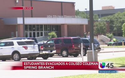 Boletín Especial: alumnos de la primaria Spring Branch están sanos y salvos