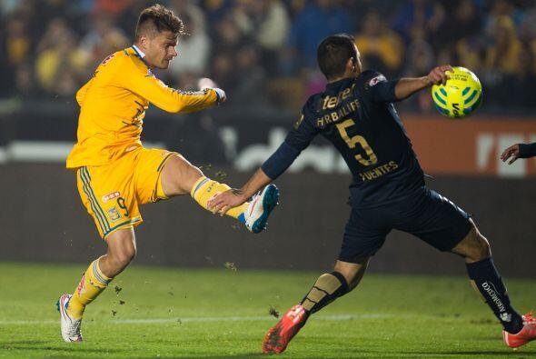 Los Tigres siguen a la espera que el brasileño Rafael Sobis se convierta...