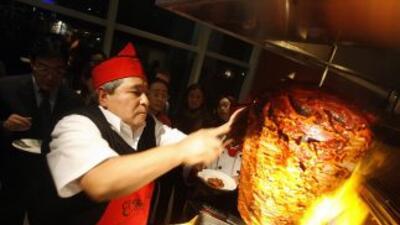 Tacos al pastor son unos de las especialidades mexicanas favoritas.