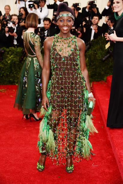 La que decepcionó terriblemente fue Lupita Nyong'o. ¡Sin comentarios!