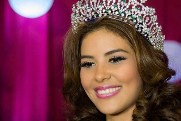 María José Alvarado de 19 años viajaría a Londres para representar a su...