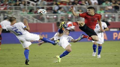 En un partido con mucho rose, México falló en la puntada final ante Chile