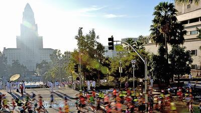 Foto de archivo del Maratón de Los Ángeles (2016).