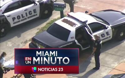 'Miami en un Minuto': cuatro personas fueron baleadas desde un carro en...