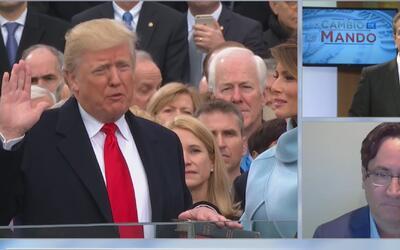 ¿La posesión de Trump como Presidente en medio de protestas es síntoma d...