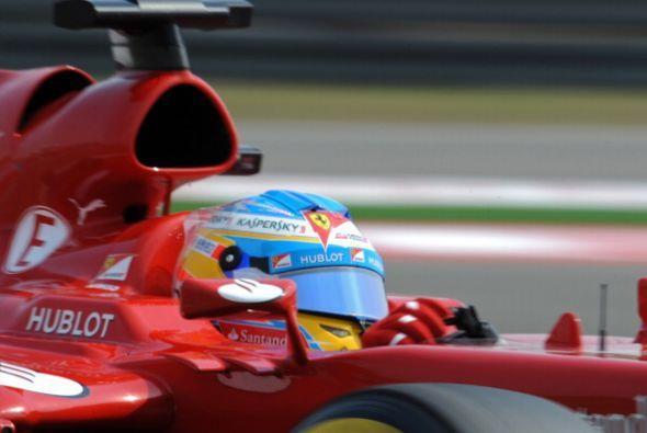 Alonso se encuentra en el sexto lugar de la tabla.