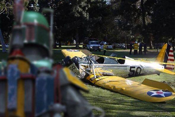 ¡Bobba Fett causó el accidente!
