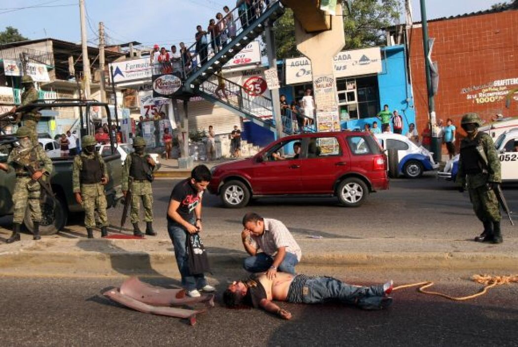 La guerra declarada por el Ejecutivo contra el narcotráfico desde diciem...