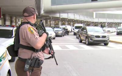 Incrementan seguridad en el Aeropuerto Internacional de Miami tras tirot...