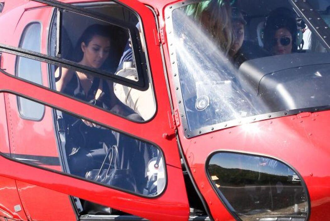Cuando eres rica y poderosa, un viajecito en helicóptero no es nada. Mir...