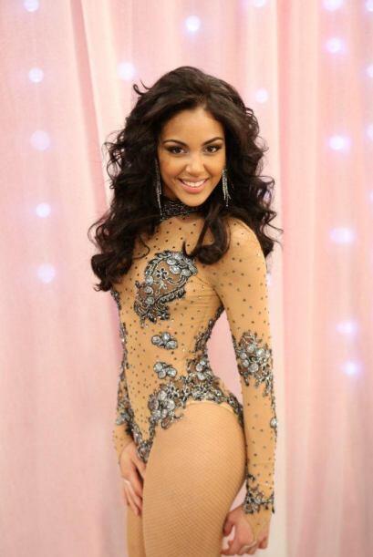 Nabila Tapia tiene la sabrosura del Caribe y en la noche de audiciones l...