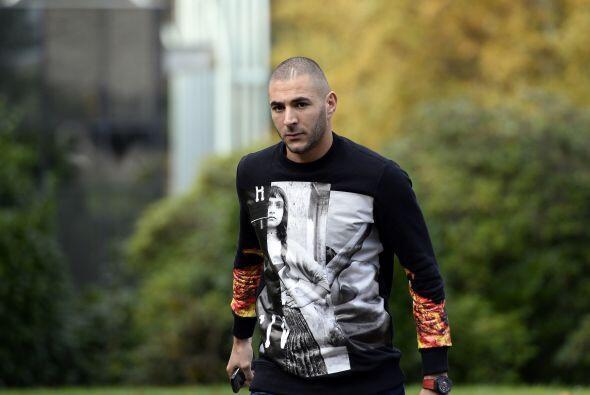 Karim Benzemá es de esos goleadores que pueden perderse durante una part...