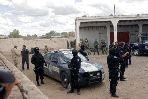 La alcaldía informó que únicamente cuenta con una patrulla policial para...