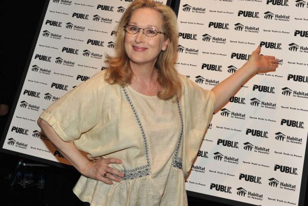 En 2010, la actriz Meryl Streep recibió un doctorado honoris causa por p...