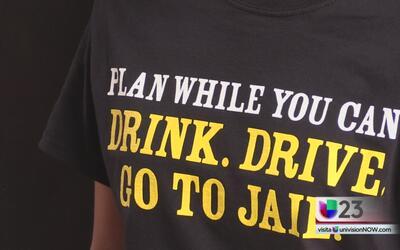 Campaña para evitar mezclar alcohol con el volante