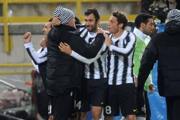Sin dudas, un gol muy importante para Mirko Vucinic.