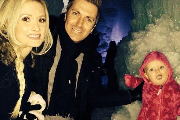 Otra familia feliz, Holly Madison, su esposo Pasquale Rotella y su princ...