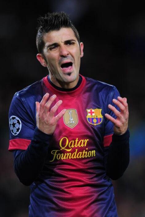 Sólo que David Villa, Cristian Tello y demás tampoco tuvieron la punterí...
