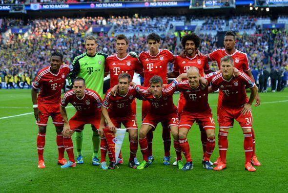 Bayern de Múnich, campeón alemán, partía com...