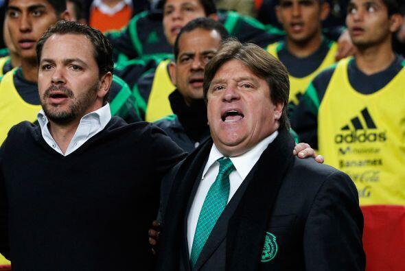 A pesar de ello, el DT del Tri, Miguel Herrera, recordó que falta tiempo...