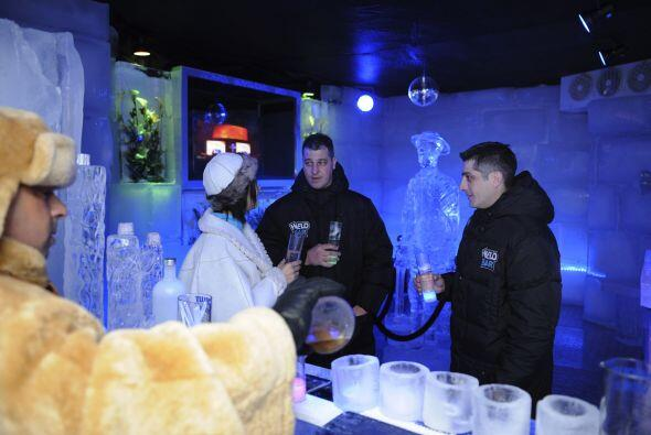 En el novedoso bar se podrán disfrutar las bebidas a seis grados...