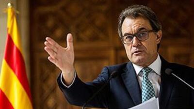 Artur Mas, presidente de Cataluña.