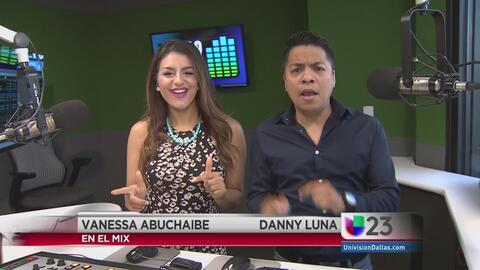 """""""En El Mix"""" con Danny Luna y Vanessa Abuchaibe - Lunes 6/13/16"""