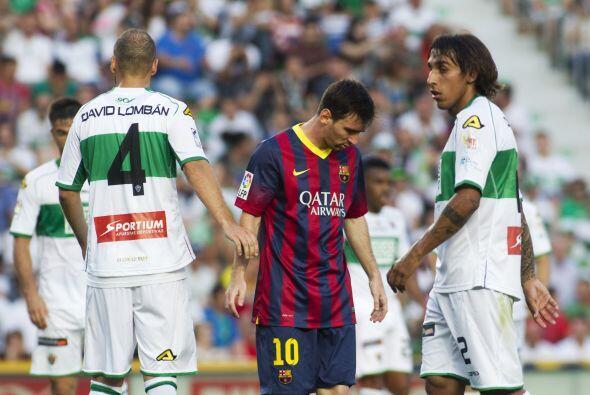 Casi similar para el Barcelona, que no lograba hacer el primer tanto del...