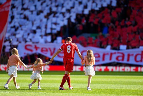 Gerrard, que abandonará Liverpool a final de curso para jugar con el Gal...