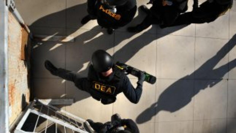 Agentes de la DEA detuvierfon a un total de 45 personas, presuntos integ...