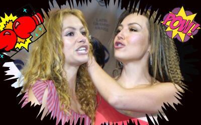 Thalía vs Paulina