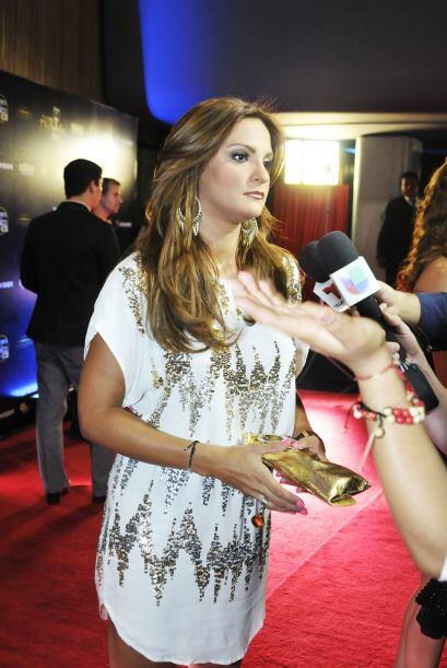 La actriz está muy contenta con esta nominación por Mejor...