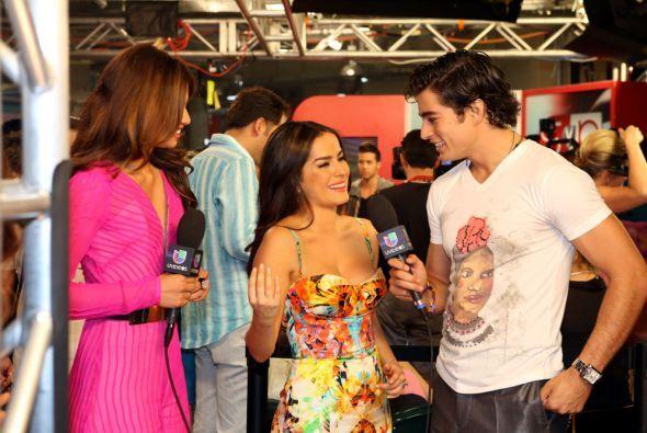 Danilo con Dana García.